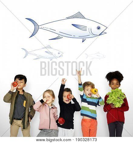 Fish Ocean Marine Ecosystem