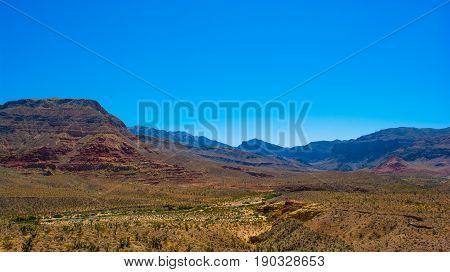 Utah desert near St. Greorge in southern Utah