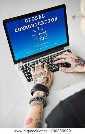 Global Communication Connecting Community