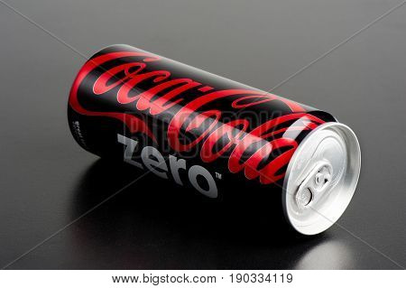 Isolate Coca-cola Can
