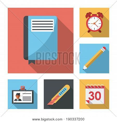 white background with business leaflet model three vector illustration