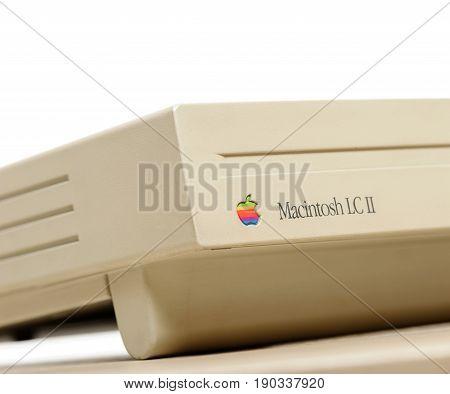 Vintage Macintosh Computer