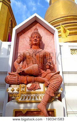Siddharta    The Temple Bangkok Asia   Thailand Drum