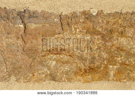 Tan, orange and grey Stone Grunge Background