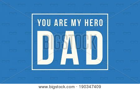 Collection stock father day greeting card vector art