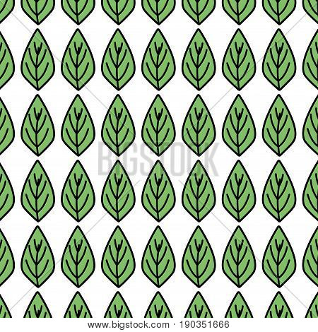 natural leaf to ecology preservation icon background vector illustration