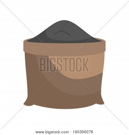 sand grit sack vector illustration graphic design icon