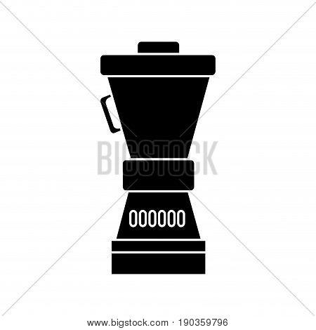 blender icon over white background vector illustration