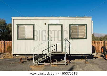 mobile building in industrial site or office container