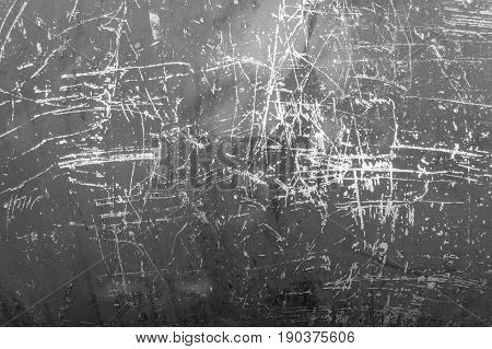 Textured Color Paint On Metal Background