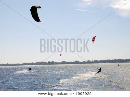 Kyte-Boarding