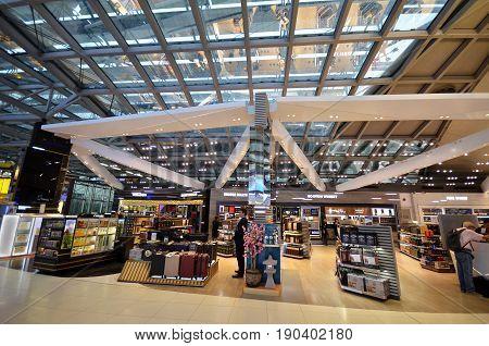 Shopping At Suvarnabhumi Airport, Bangkok