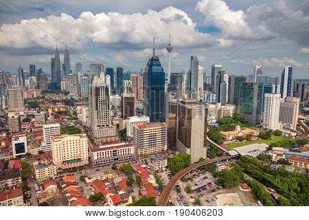 Kuala Lumpur. Cityscape image of Kuala Lumpur, Malaysia during day.