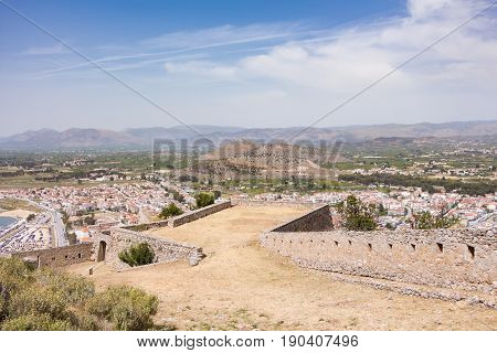 Nafplio Town Seen From Palamidi Castle, Greece