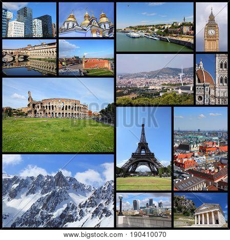 Landmarks Of Europe
