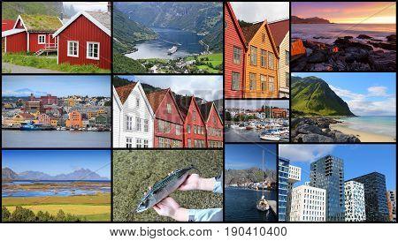 Norway Photo Collage