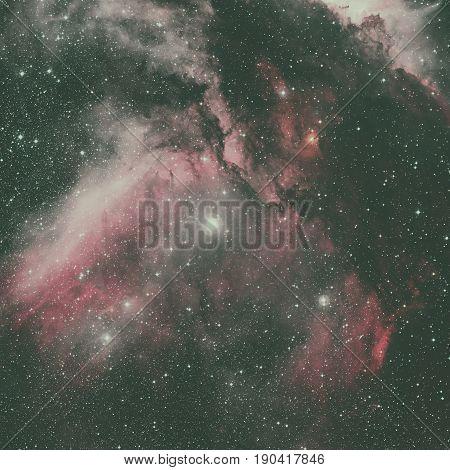The Carina Nebula Is A Large Bright Nebula.