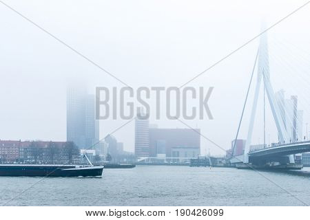 Street view of Port of Rotterdam, the nickname