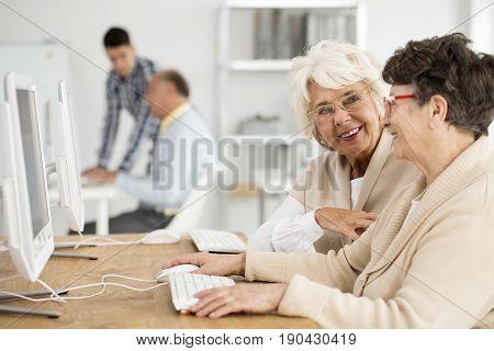 Senior Ladies During It Classes