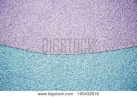 Rubber floor in a playground for children.