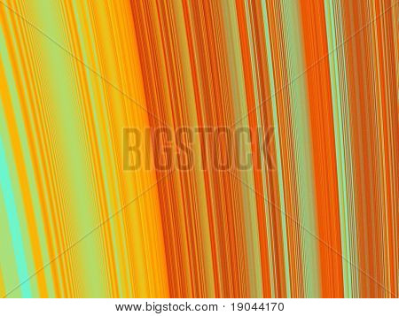 An artistic colored fractal background poster