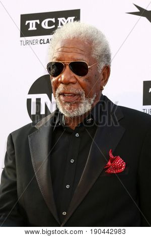 LOS ANGELES - JUN 8:  Morgan Freeman at the American Film Institute's Lifetime Achievement Award to Diane Keaton at the Dolby Theater on June 8, 2017 in Los Angeles, CA
