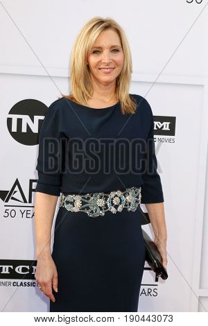 LOS ANGELES - JUN 8:  Lisa Kudrow at the American Film Institute's Lifetime Achievement Award to Diane Keaton at the Dolby Theater on June 8, 2017 in Los Angeles, CA
