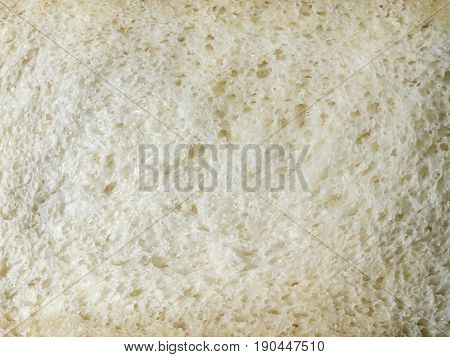 Cut fresh bread. White bread crumb. Homemade bread,
