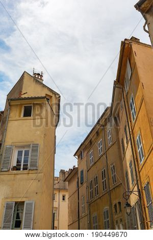 Old Buildings In Aix-en-provence, France