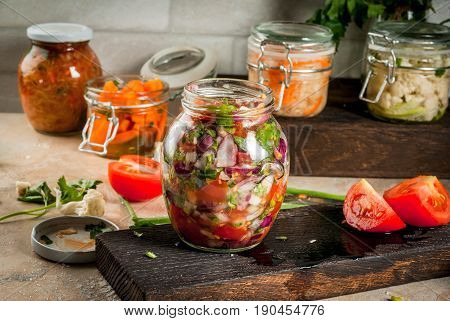 Fermented Preserved  Food