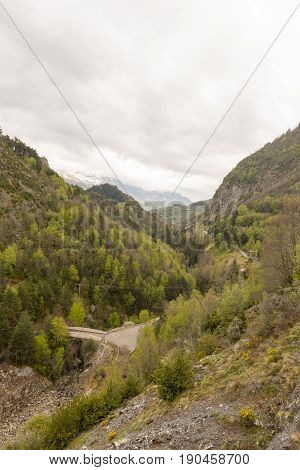 For The Town Of Lanuza In The Pyrenees Of Huesca