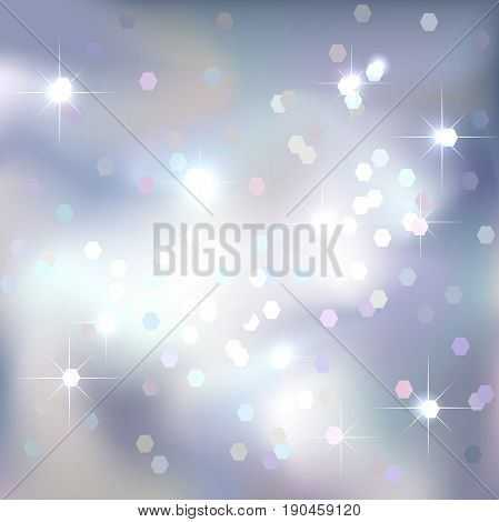 Abstract background. White color sky background. Magical New Year, Christmas event style.