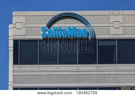 Indianapolis - Circa June 2017: Sallie Mae Customer Service Location. Sallie Mae services and collects private education loans