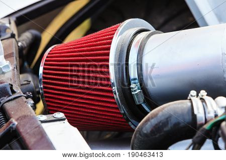 Detailed Air Filter In Big Machinery