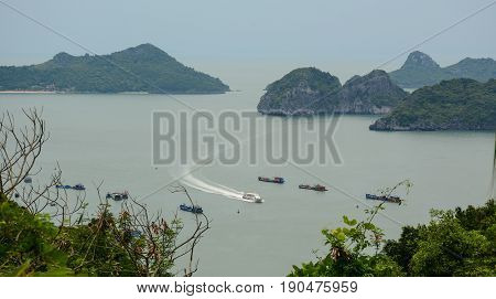 Landscape Of Cat Ba Island In North Of Vietnam