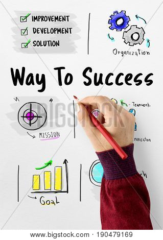 Way to success business plan sketch