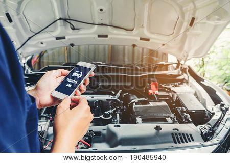 Car Insurance Accident Claim Risk Defense Drive Concept