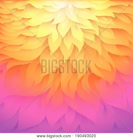 Colorful vector background. Abstract floral colorful background.