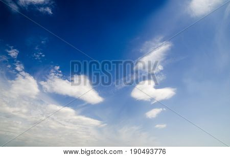 Summer sky natural background wallpaper freedom and spiritual purity conceptual photo