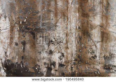 Texture of a dense scuffed dirty cloth.