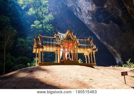 Phraya Nakhon Cave. Khao Sam Roi Yot National Park in Thailand