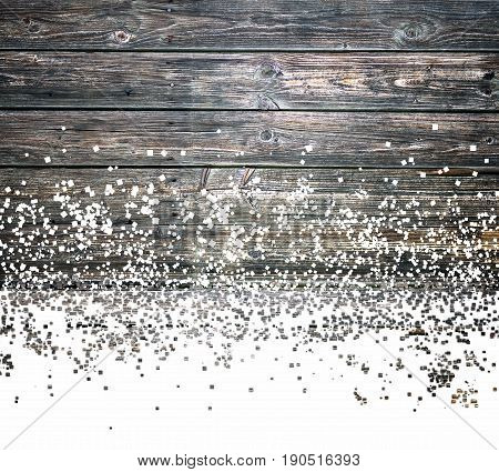 old wood background texture with dispersion effect
