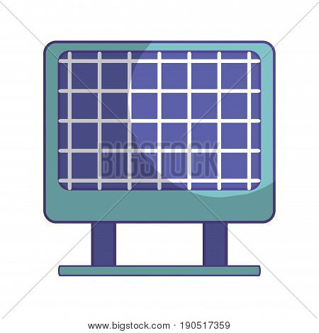 solar energy to protection and enviroment care vector illustration
