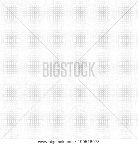 Vector seamless pattern. Abstract small dotted textured background. Modern minimal texture. Regularly repeating geometrical surface.