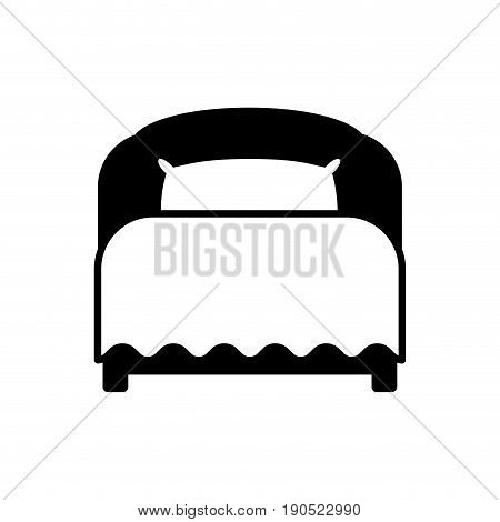 Bed room symbol icon vector illustration graphic design