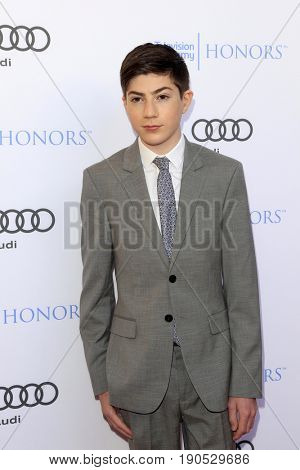 LOS ANGELES - JUN 8:  Mason Cook at the 10th Annual Television Academy Honors at the Montage Hotel on June 8, 2017 in Beverly Hills, CA