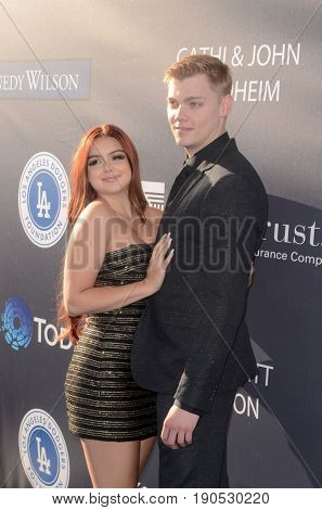 LOS ANGELES - JUN 8:  Ariel Winter, Levi Meaden at the Los Angeles Dodgers Foundations 3rd Annual Blue Diamond Gala at the Dodger Stadium on June 8, 2017 in Los Angeles, CA