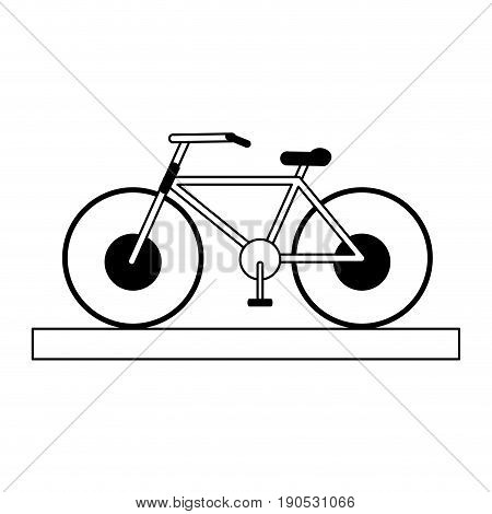 bycicle silhouette illustration icon vector design graphic