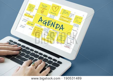 Agenda Memo Note Post Appointment Meeting Reminder