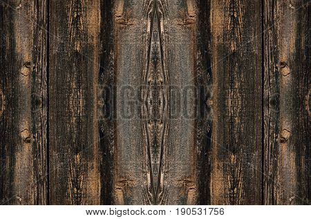 Dark light of a wooden texture vertical direction yellow shades of paint